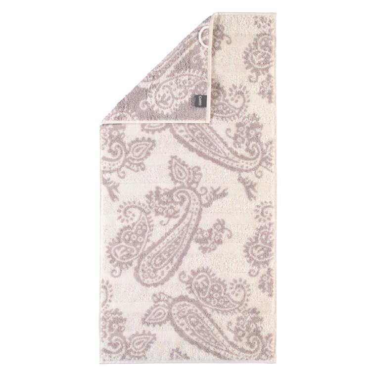 Cawö Badehåndklæde Noblesse Pastell Paisley Natur 80x150