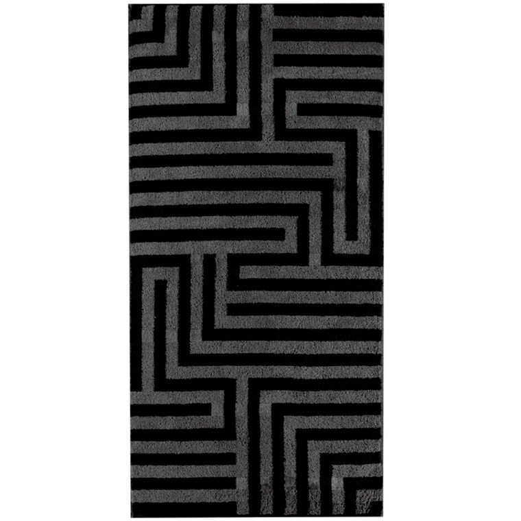 Cawö håndklæde 50x100 Noblesse Graphic Antrazit