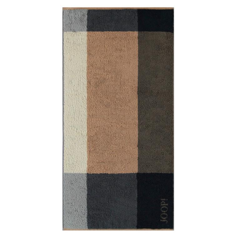 JOOP badehåndklæde 80x150 Squares Piment