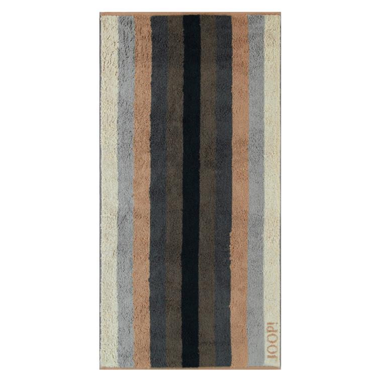 JOOP badehåndklæde Stripes Piment 80x150