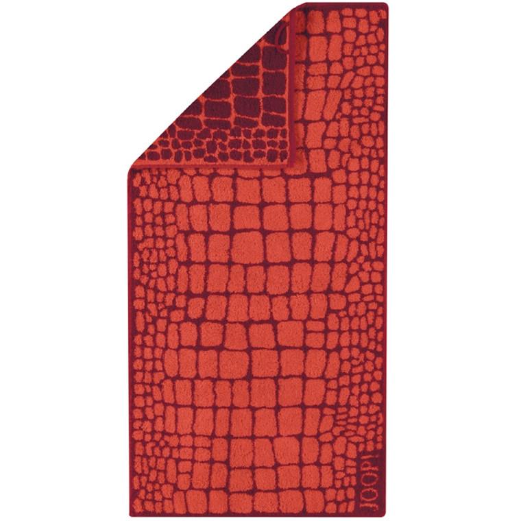 JOOP håndklæde CROCO Mohn 50x100