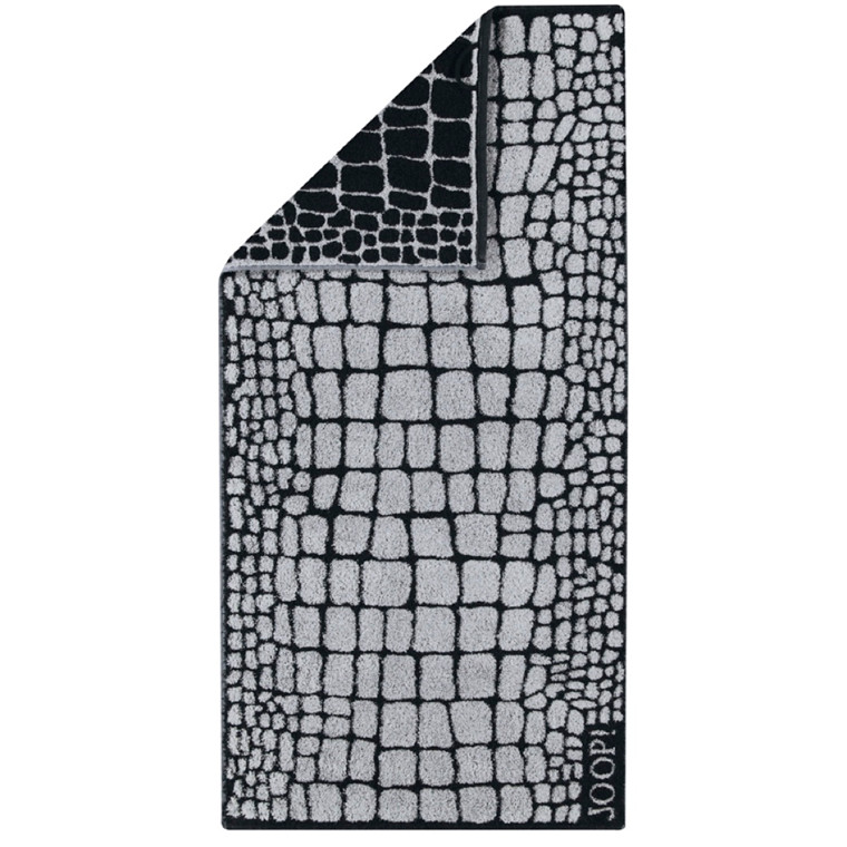 JOOP håndklæde CROCO Graphit 50x100