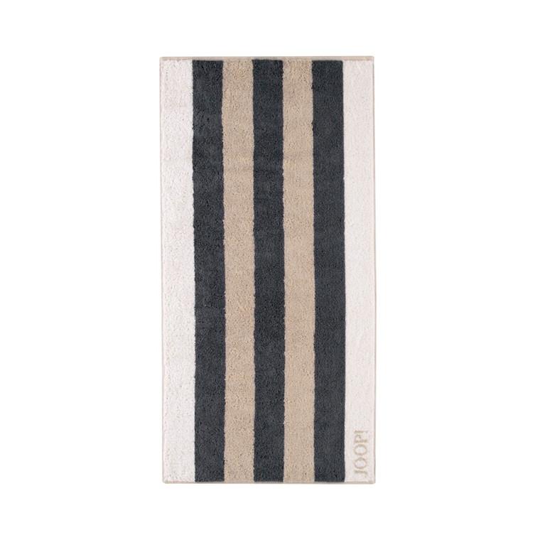 JOOP håndklæde Stripes Stein 50x100