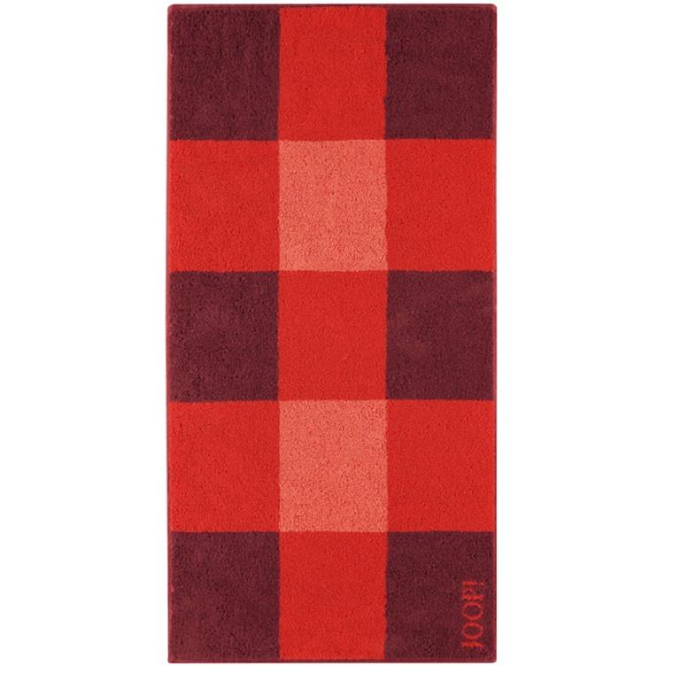 JOOP badehåndklæde Squares Mohn 80x150