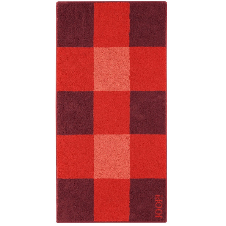 JOOP håndklæde Squares Mohn 50x100