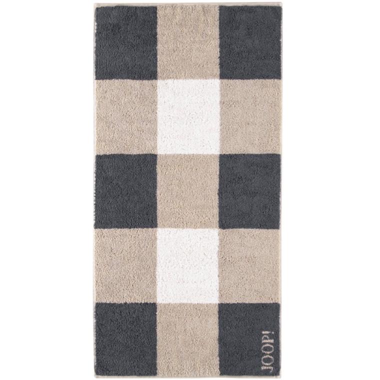 JOOP badehåndklæde Squares Stein 80x150
