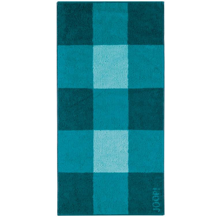 JOOP badehåndklæde Squares Lagune 80x150