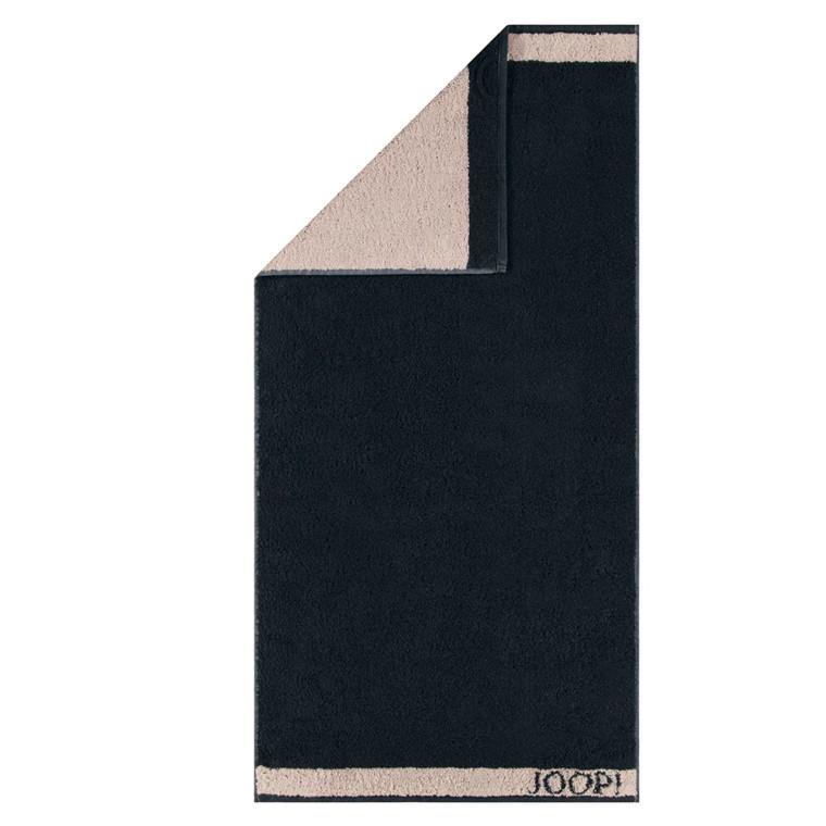 JOOP badehåndklæde Dubleface Sort 80x150