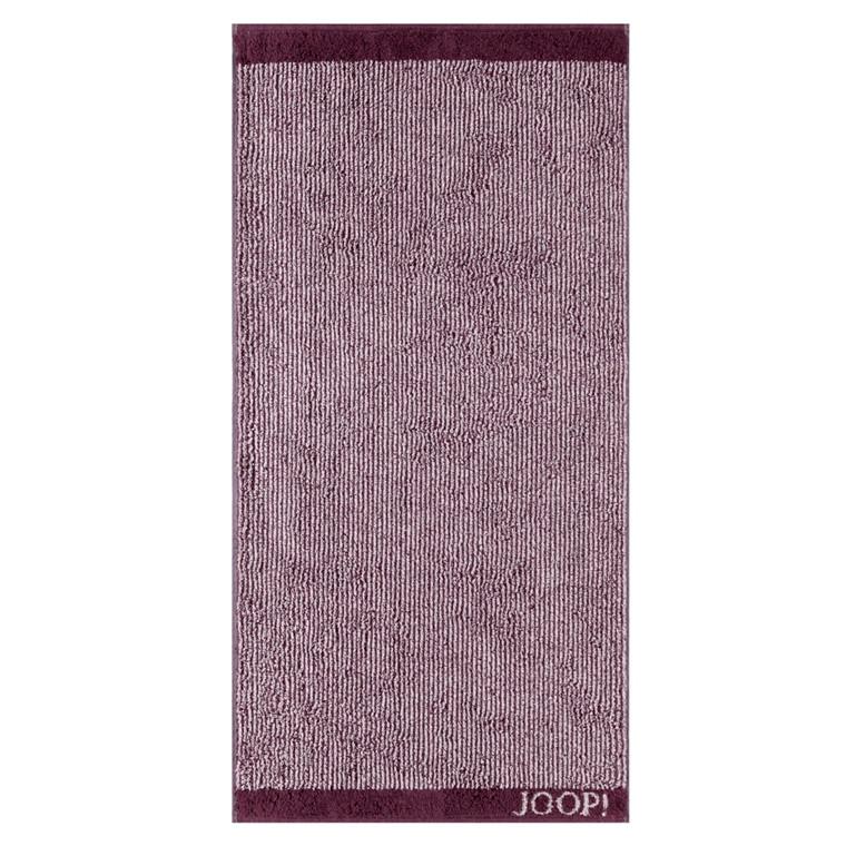 JOOP badehåndklæde Stripes Marsala 80x150
