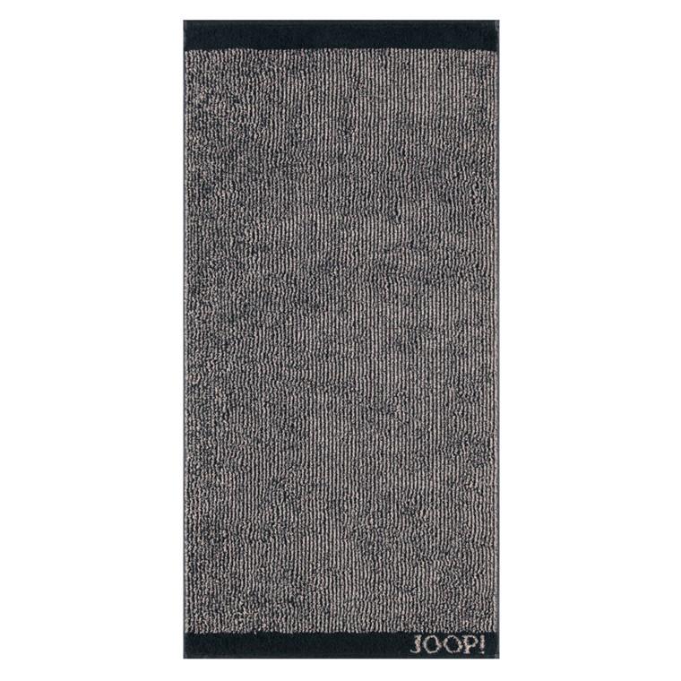 JOOP! badehåndklæde 80x150 Decor Strips Schwarz