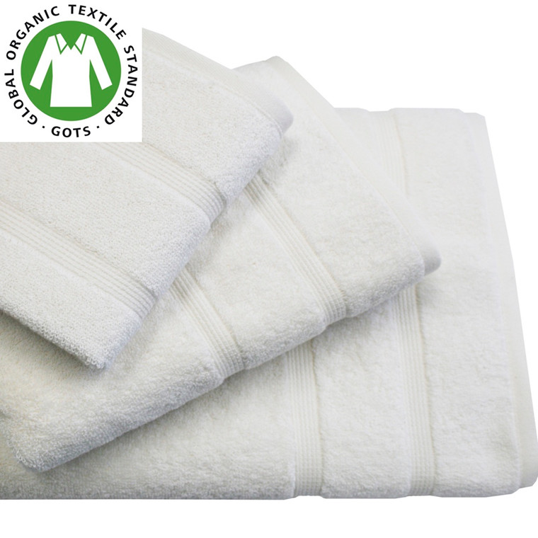 Organic Touch Økologisk badehåndklæde 75x150 Natur