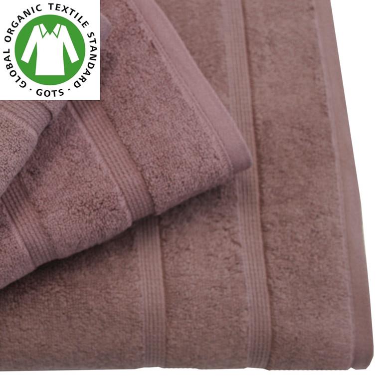 Organic Touch Økologisk håndklæde 50x100 blomme