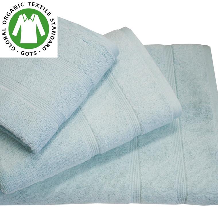 Organic Touch Økologisk håndklæde 50x100 blå