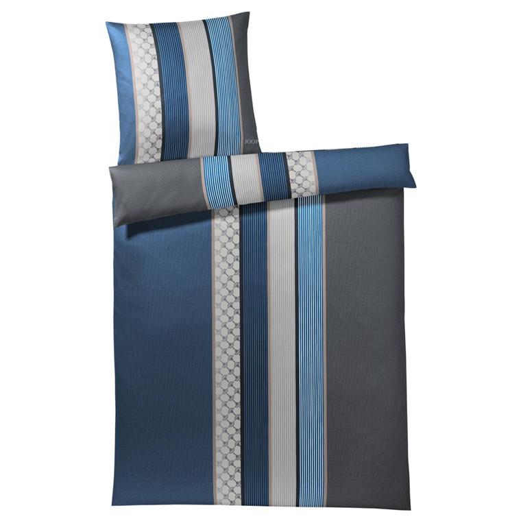 JOOP Sengetøj Cornflower Stripe blå 135x220