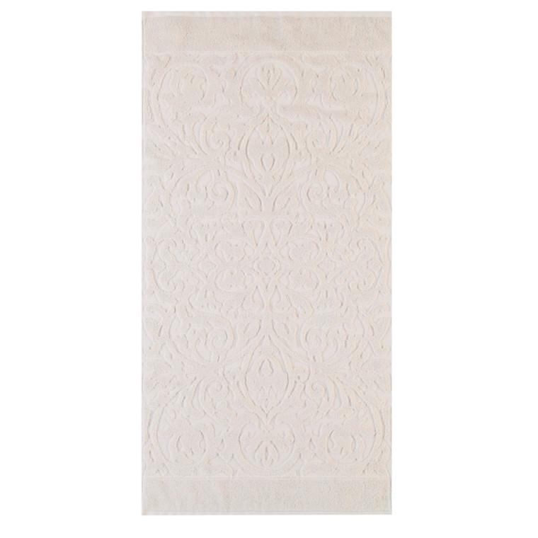 Cawö håndklæde Ambiente Ornament Sand 50x100
