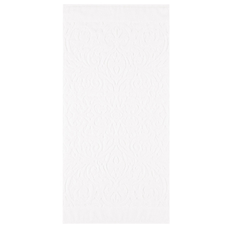 Cawö badehåndklæde Ambiente Ornament  Hvid 70x140