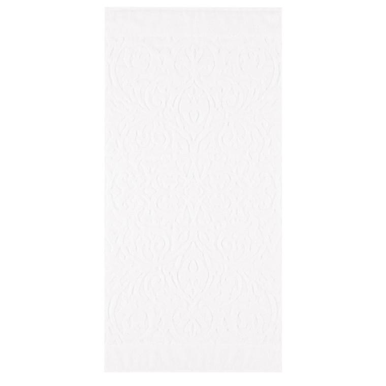 Cawö håndklæde Ambiente Ornament Hvid 50x100