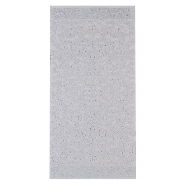 Cawö badehåndklæde Ambiente Ornament  Platin 70x140