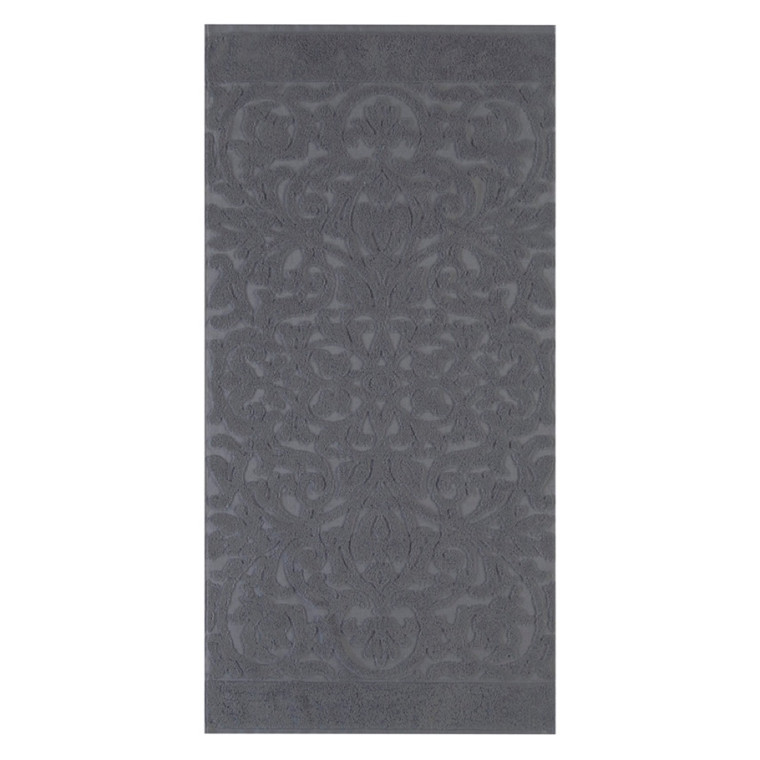 Cawö badehåndklæde Ambiente Ornament  Koks 70x140