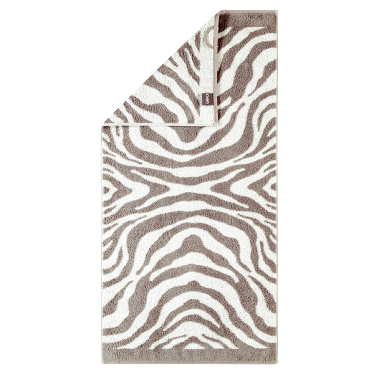 Cawö håndklæde Zebra Natur 50x100