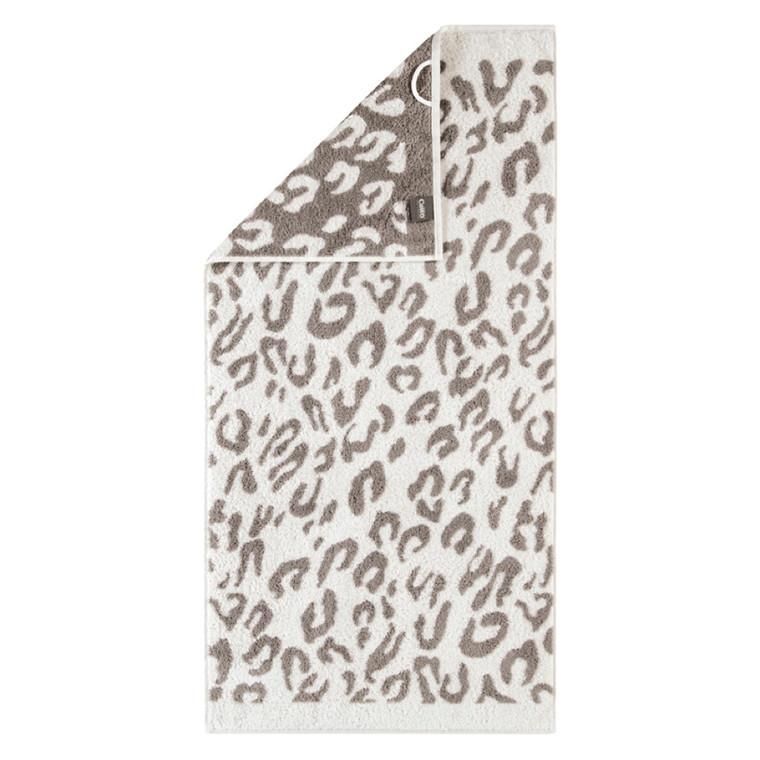 Cawö håndklæde Leopard natur 50x100
