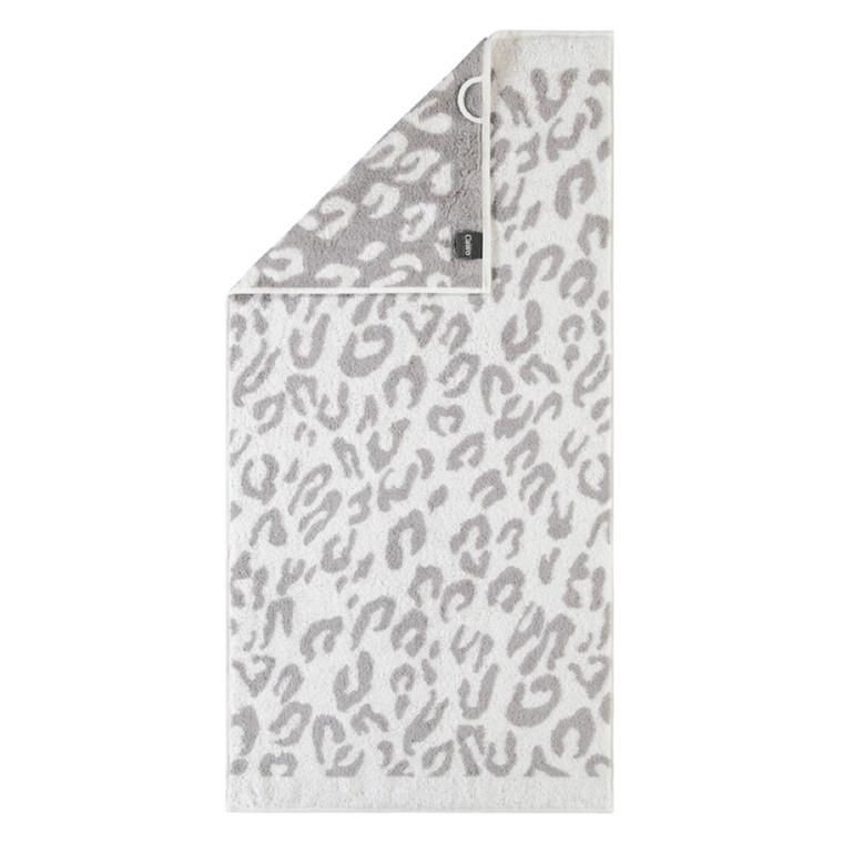 Cawö håndklæde Leopard silbe 50x100
