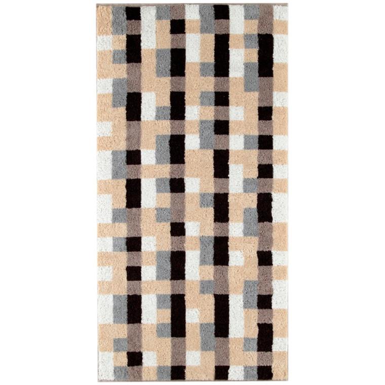 Cawö håndklæde Lille Mosaik Sand 50x100