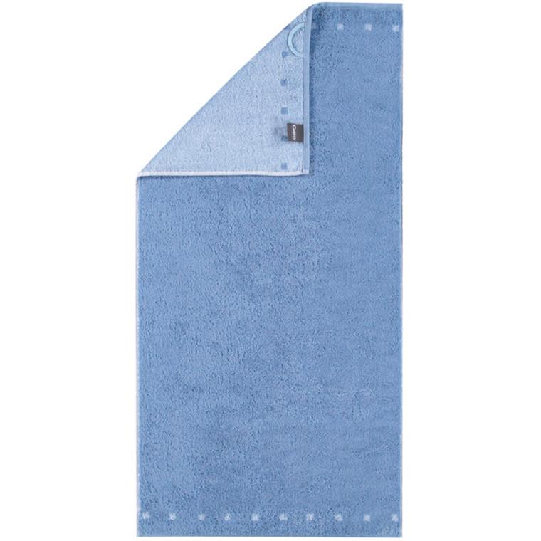 Cawö badehåndklæde Memory Dubleface Blå 70x140