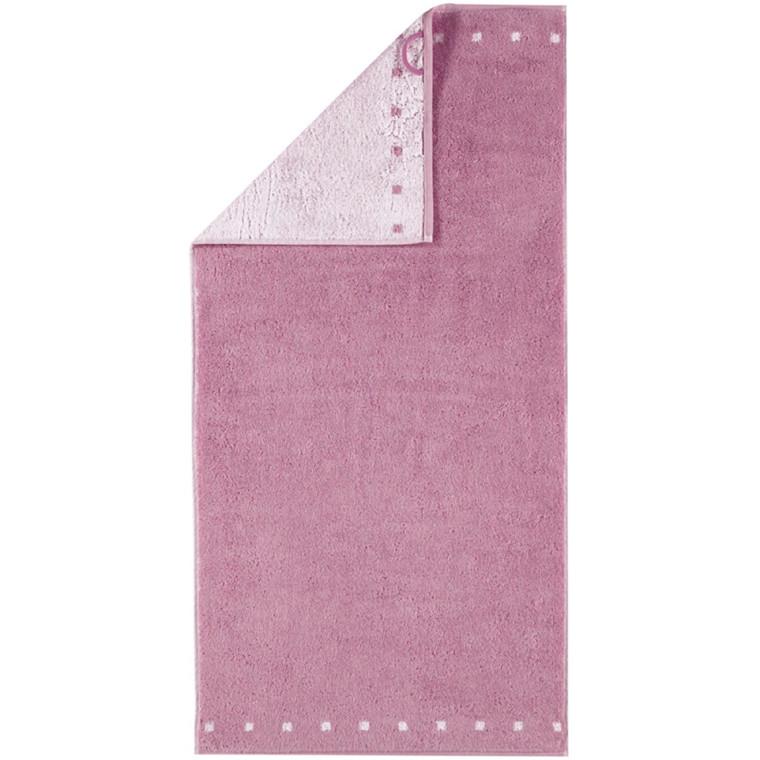 Cawö håndklæde Memory Dubleface Rosa 50x100