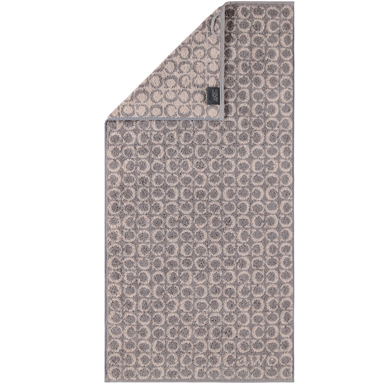 Cawö badehåndklæde Two Tone Graphit C-Alover 80x150