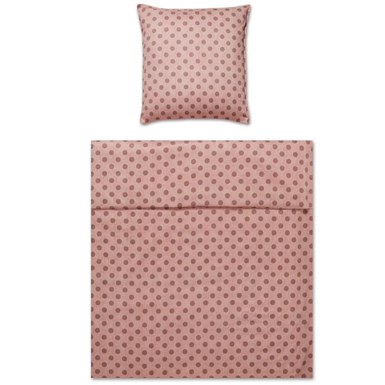 YES! Spot Powder Maco-satin sengetøj 764/1 135x200