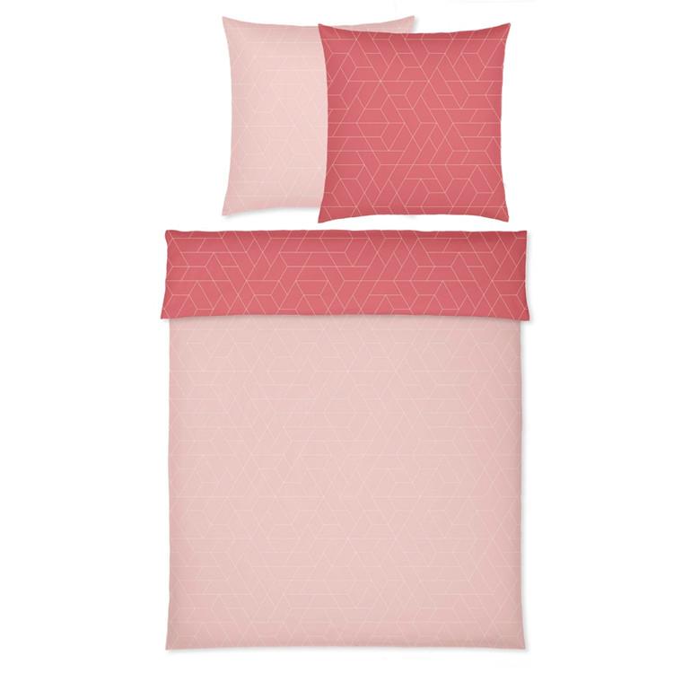 YES! Cubo Powder Maco-satin sengetøj 766/1 135x200