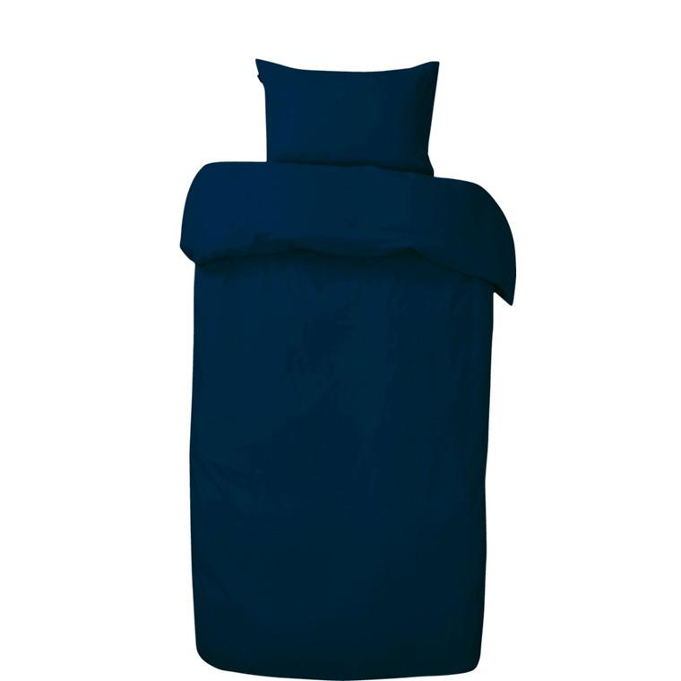 Amadora Stone washed sengetøj mørk blå 140x200