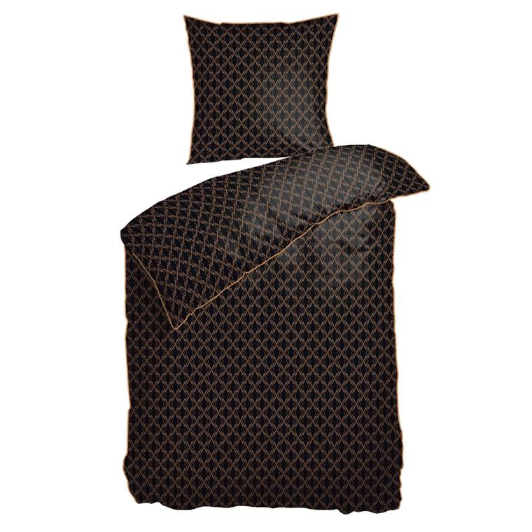 Night & Day sengesæt Gatsby Black 140x220