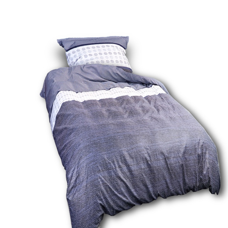 Koyto ægyptisk bomulds satin sengetøj 140x220