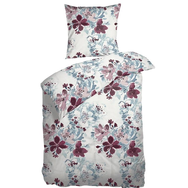 Nordisk Tekstil sengetøj Samoa Bordeaux 140x220