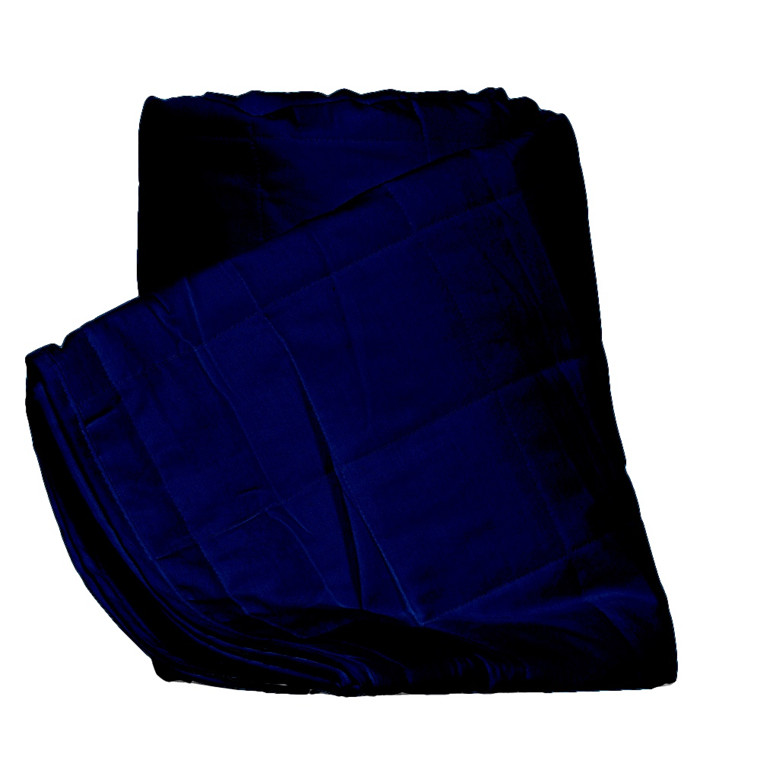 Stella sengetæppe blå 260x260