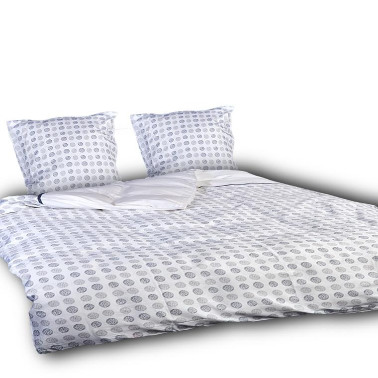 Toji ægyptisk bomulds satin sengetøj til dobbeltdyne 240x220