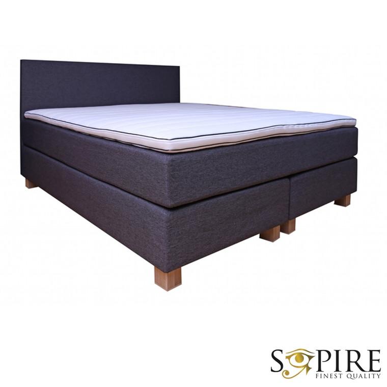 sopire ulm kontinental seng med latex topmadras 180x200. Black Bedroom Furniture Sets. Home Design Ideas