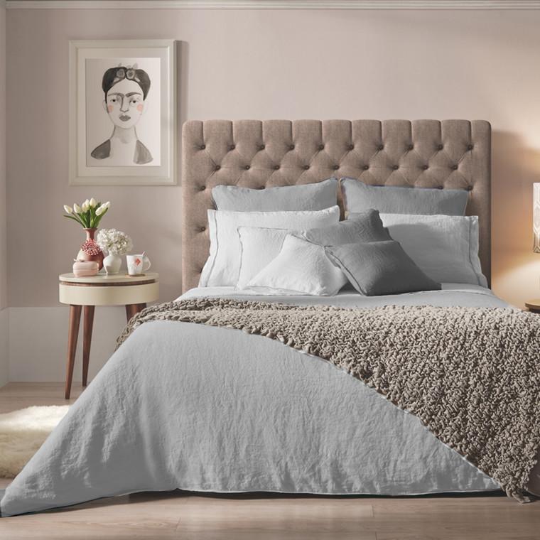 Sopire hør sengetøj Villa Nova lys grå 140x220