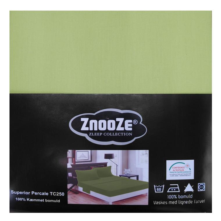 Znooze Superior facon lagen 160x200x35 lys grøn