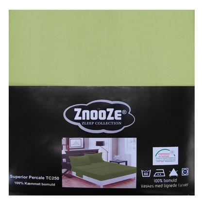 Znooze Superior facon lagen 90x200x25 lys grøn