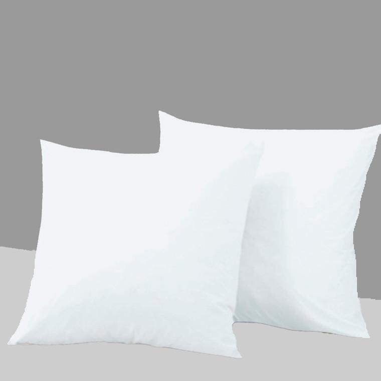 2-pak Absolut White bomuldssatin hovedpudebetræk 60x63