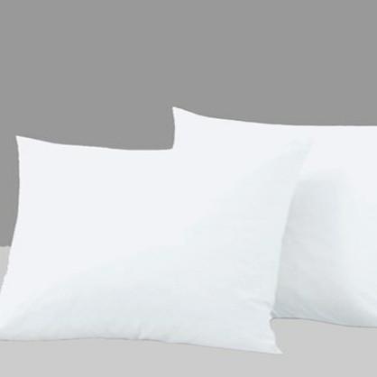 2-pak Absolut White bomuldssatin hovedpudebetræk 50x70