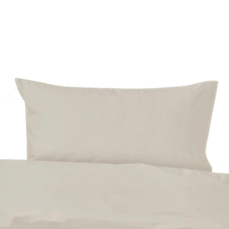 Amadora Stone washed  pudebetræk til stor gavlpude hvid 70x100