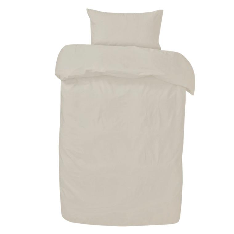 Amadora Stone washed sengetøj hvid 140x220