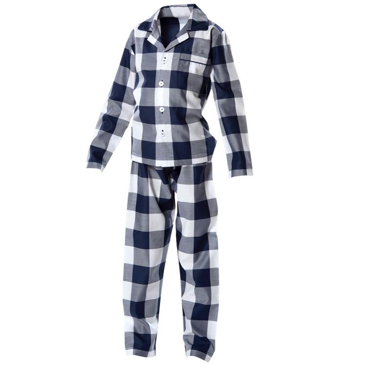 Hästens blåternet børne pyjamas