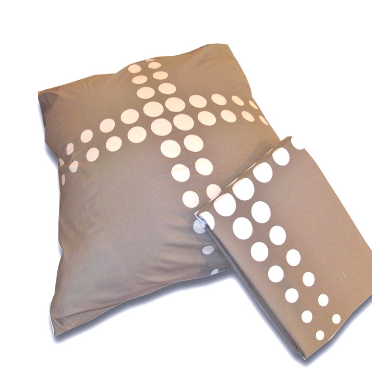 Balder nougat sengetøj Excelence percale 140x200