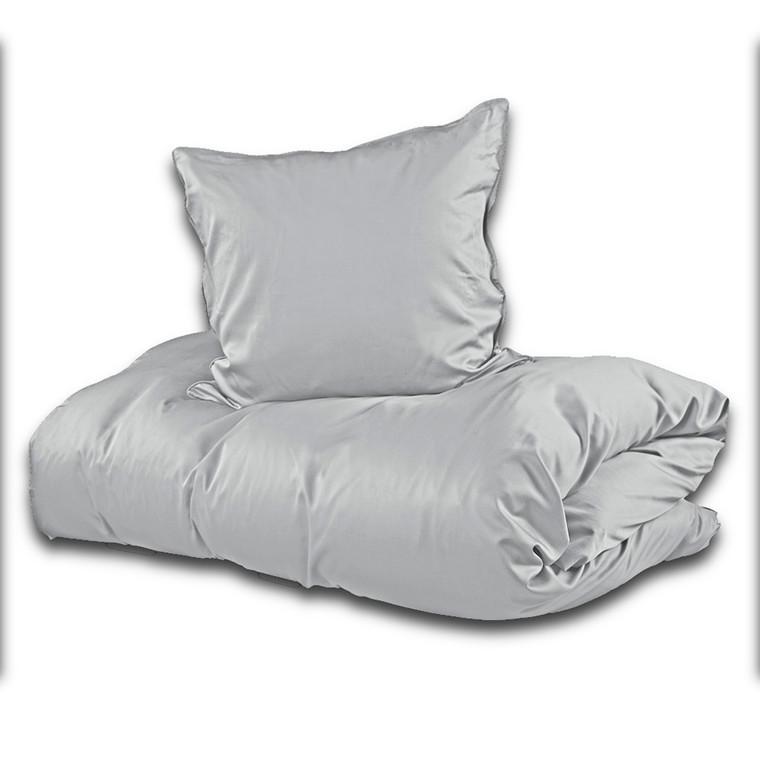 Sopire bambus sengetøj lys grå 140x220