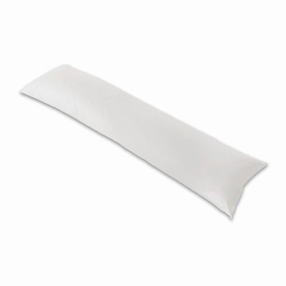 2 pak Betræk til Side-sleep-pillow 160x35 Road TC 300 satin smal hotelstrib